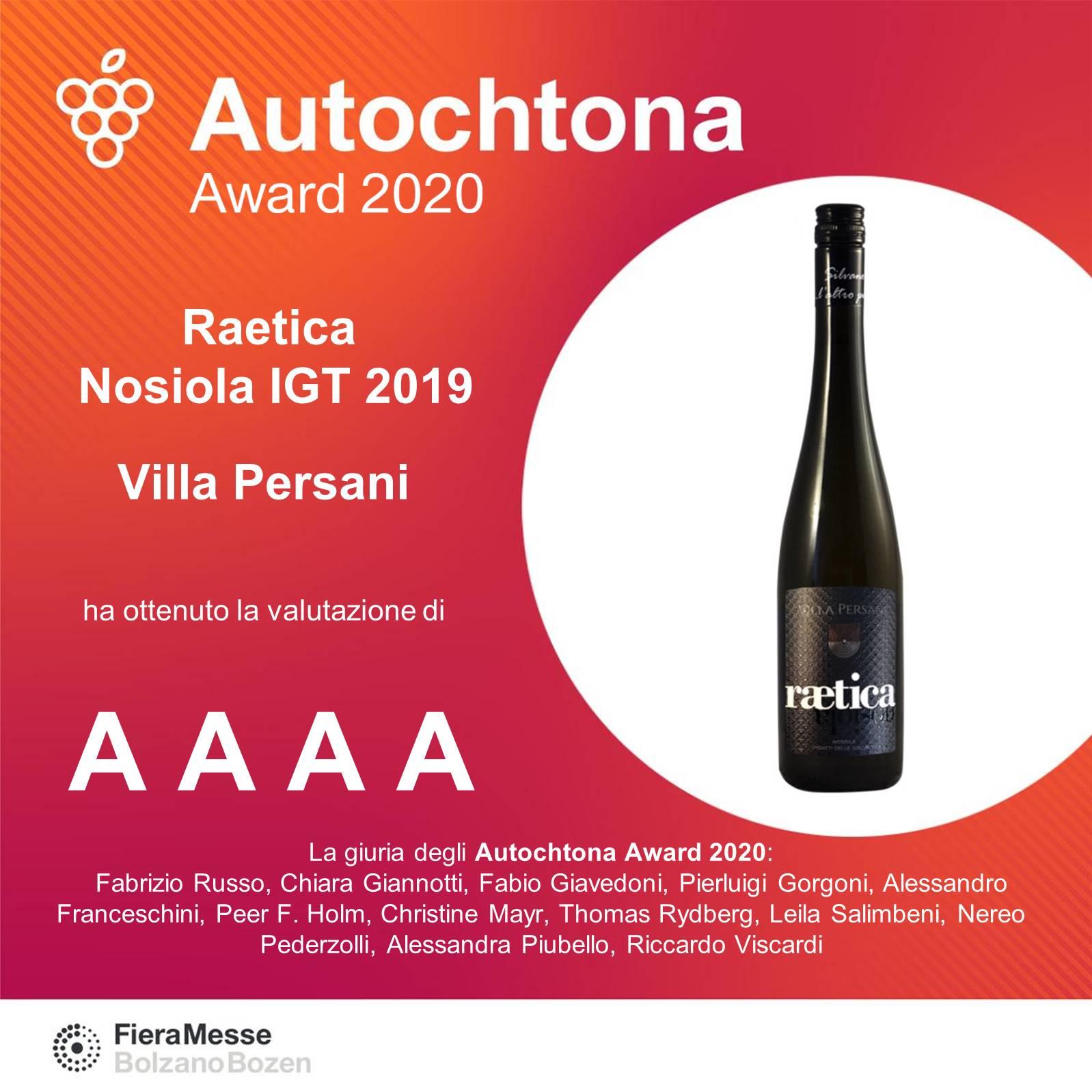 Premio Autochtona Award 2021